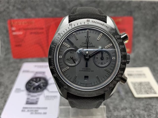 Men's Gold Omega Speedmaster Moonwatch Numbered Edition Fake Watches