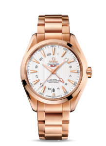 Omega Aqua Terra Co-Axial GMT fake Watches