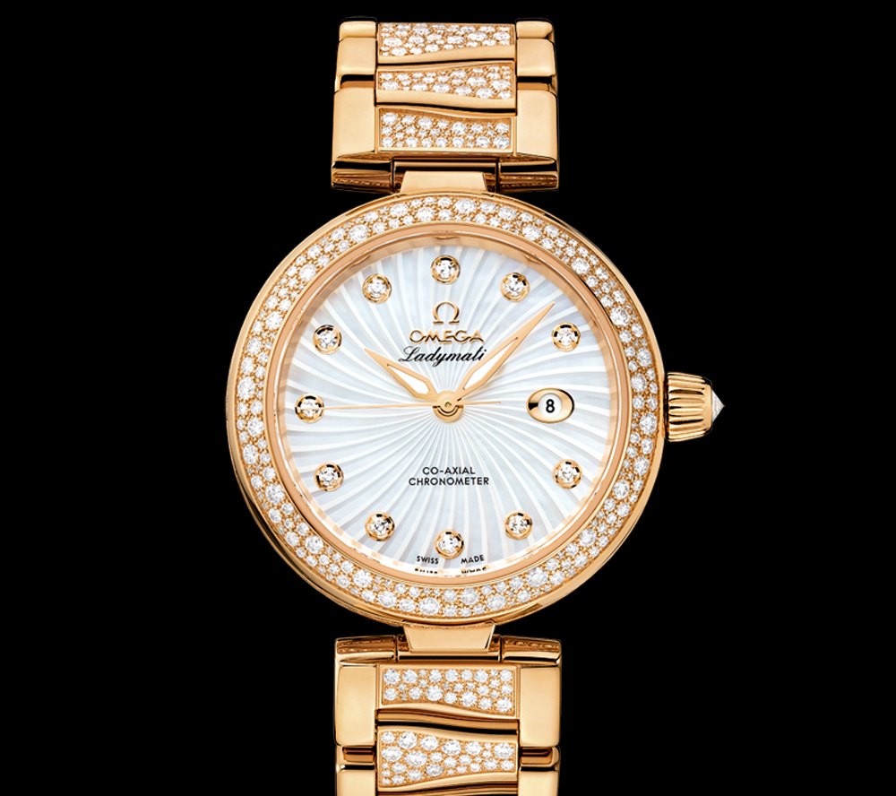 Omega-De-Ville-Ladymatic-fake-8521cal-yellow-gold