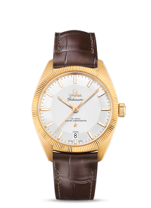 Replica Omega Globemaster Co-Axial Master Chromometers 39 MM With Yellow Gold Case
