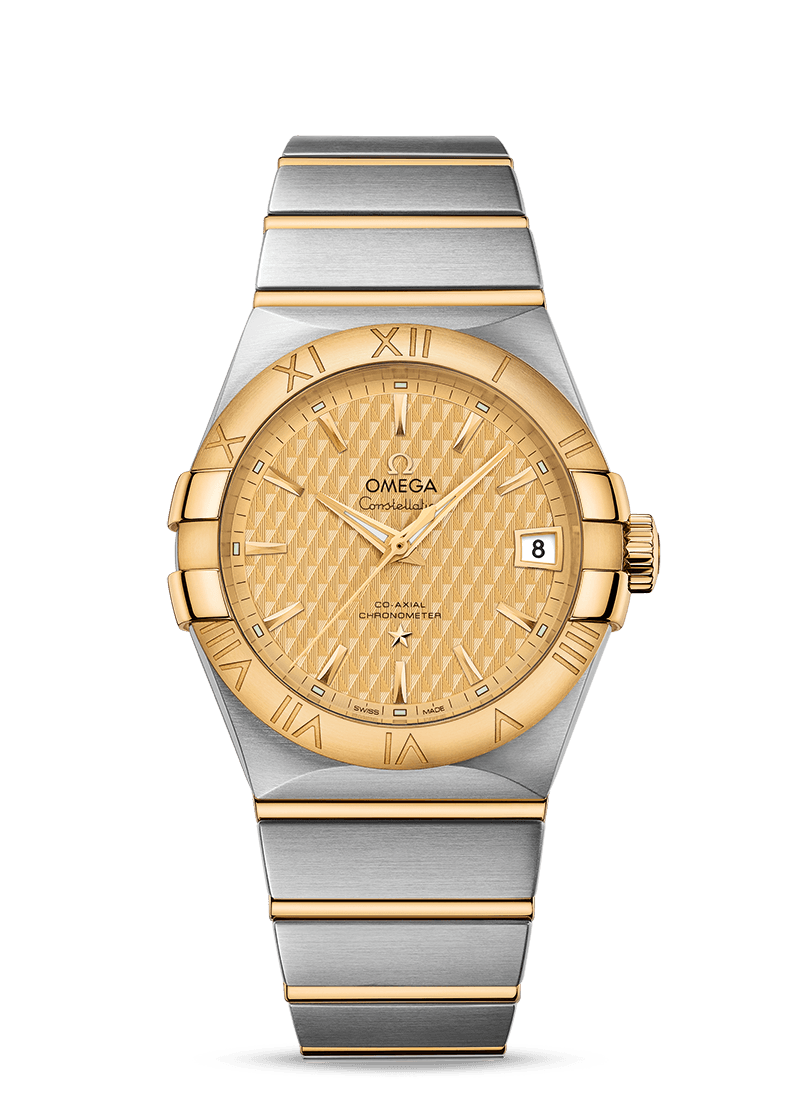 omega-constellation-fake-champagne-dials