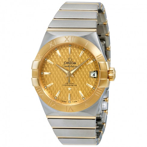 omega-constellation-fake-steel-gold-cases